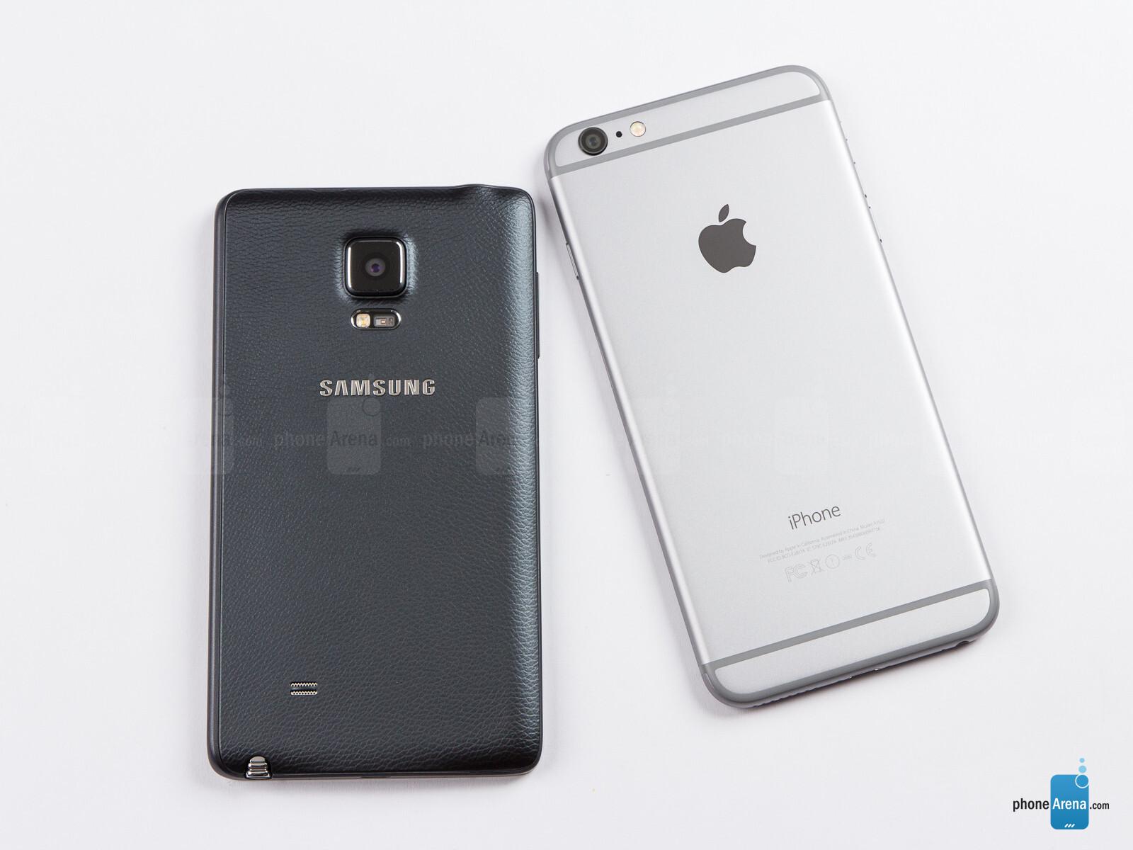 mobile spy iphone 6 Plus vs galaxy note 4