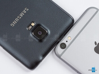 Samsung Galaxy Note Edge vs Apple iPhone 6 Plus