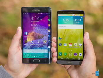 Samsung Galaxy Note Edge vs LG G3