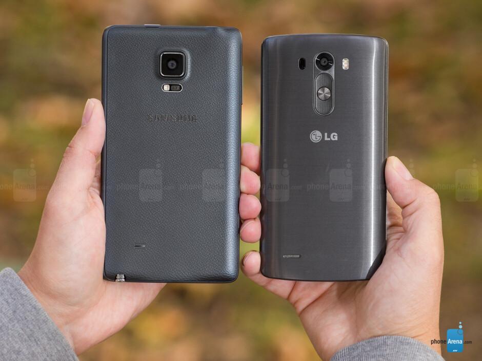 Samsung Galaxy Note Edge vs LG G3