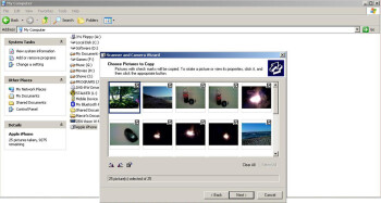 Image Transfer Wizard on Windows XP - Apple iPhone Review