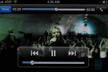 Video Playback - Apple iPhone Review