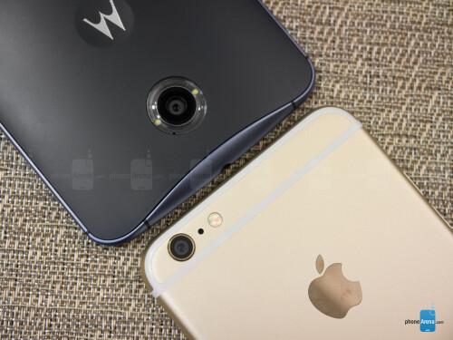 Google Nexus 6 vs Apple iPhone 6 Plus