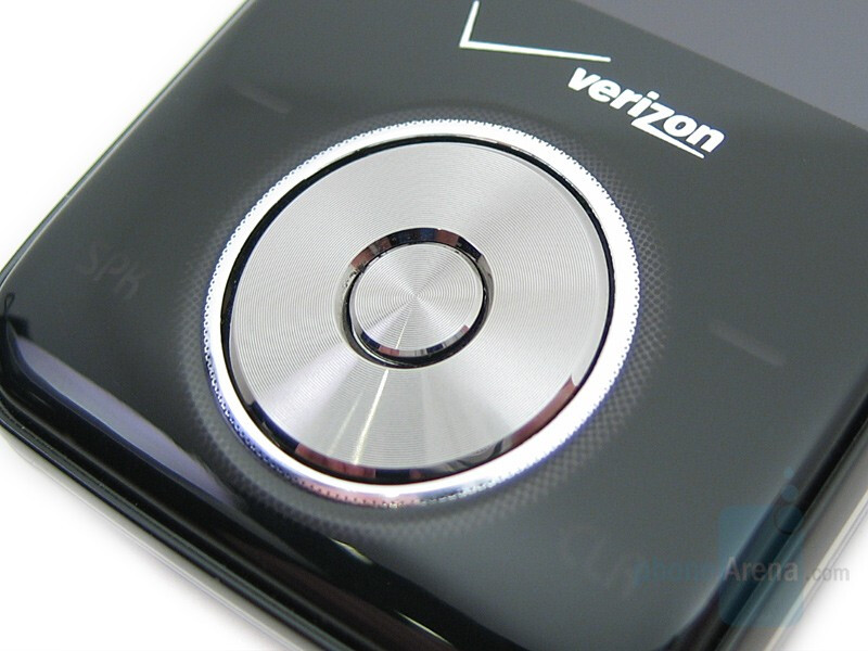 Scroll Wheel (more images in the Gallery) - LG VX8550 Chocolate Review