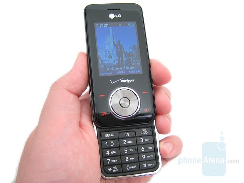 lg vx8550 chocolate review rh phonearena com LG Chocolate Touch Razor Phone