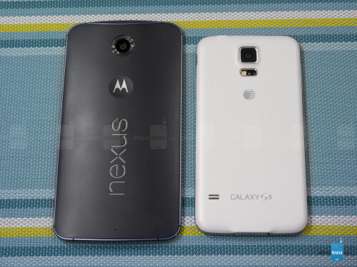Google Nexus 6 vs Samsung Galaxy S5