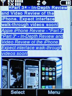 LG VX8550 Chocolate Review