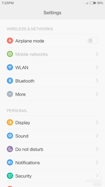 Xiaomi Mi 4 user interface - Xiaomi Mi 4 vs Samsung Galaxy S5