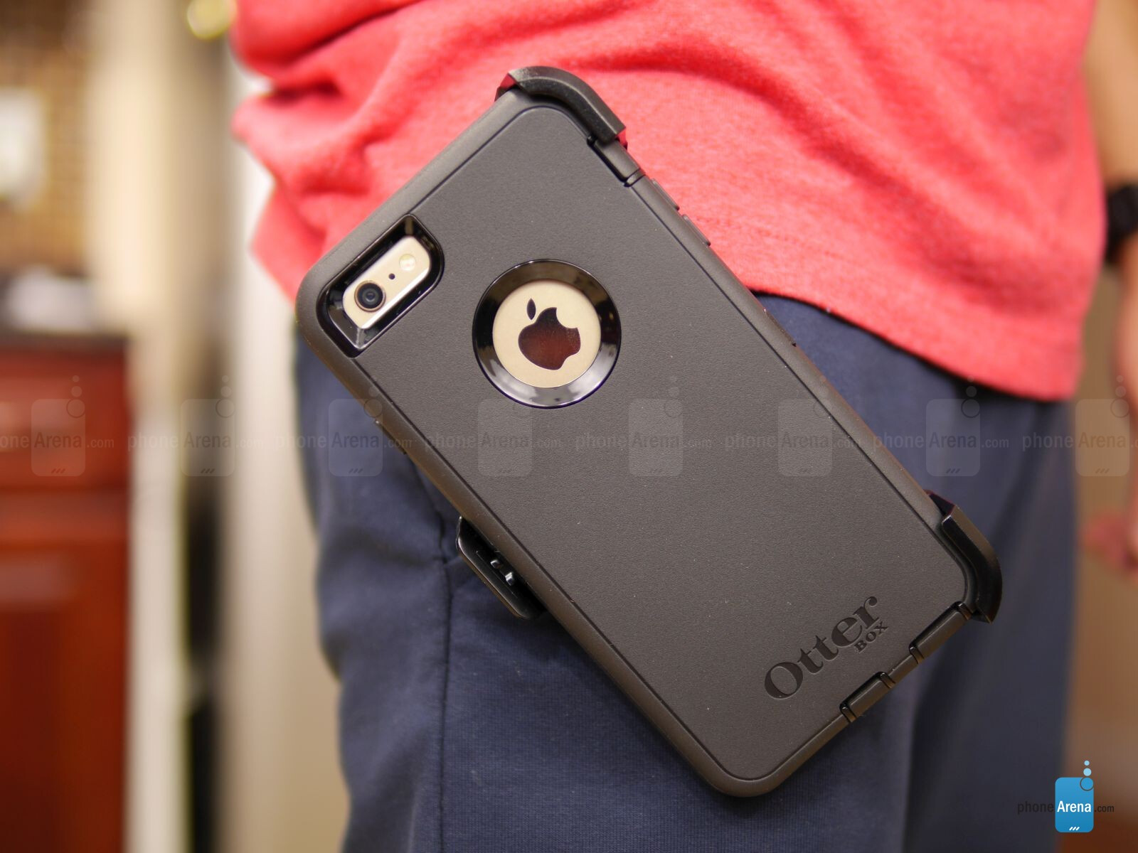 eeb21158f Otterbox Defender Series Case for Apple iPhone 6 Plus Review ...