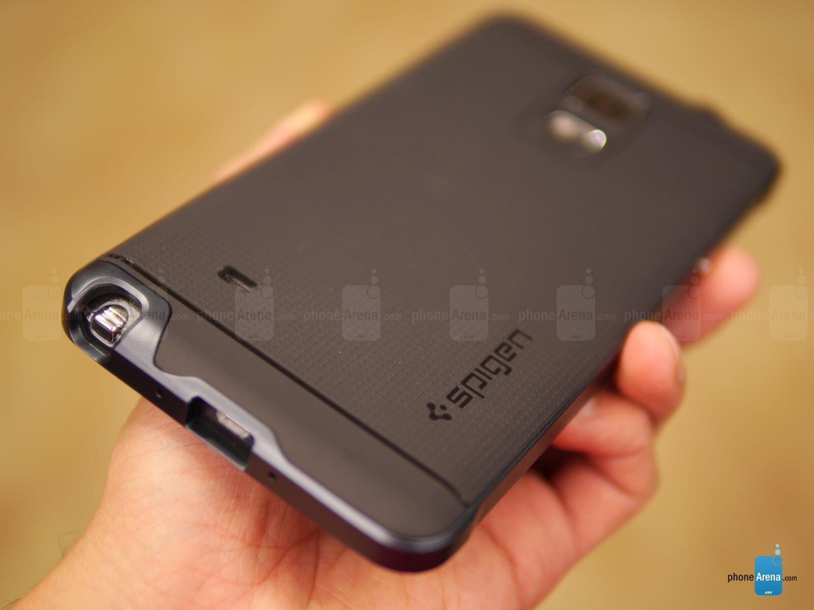 best sneakers c981d 05877 Spigen Neo Hybrid Case for Samsung Galaxy Note 4 Review - PhoneArena