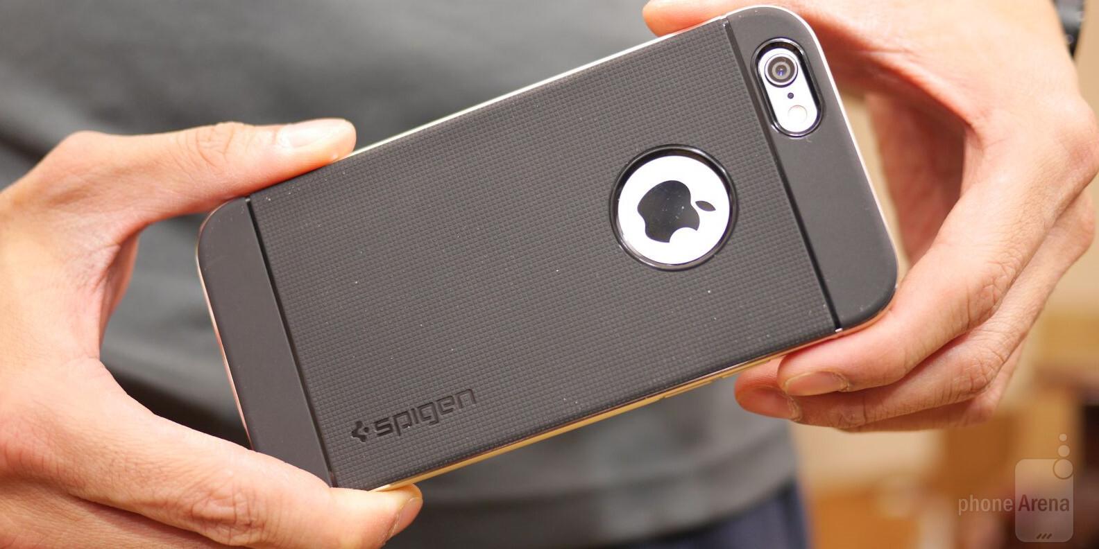spigen neo hybird metal case for apple iphone 6 review. Black Bedroom Furniture Sets. Home Design Ideas