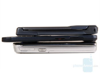 from left to right and top to bottom - SGH-U300, SGH-U100, SGH-U700 - Samsung U700 Ultra 12.1 Review