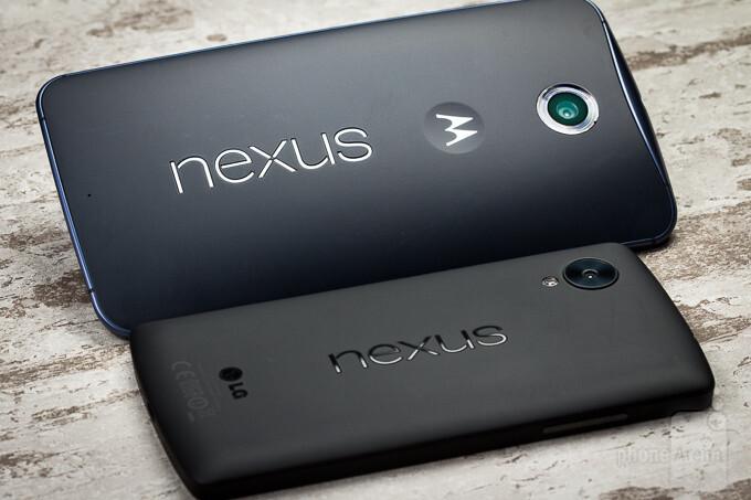 Google Nexus 6 vs Google Nexus 5
