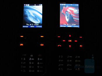 LG VX8550 and VX8500 Chocolate phones comparison - LG VX8550 Chocolate Review