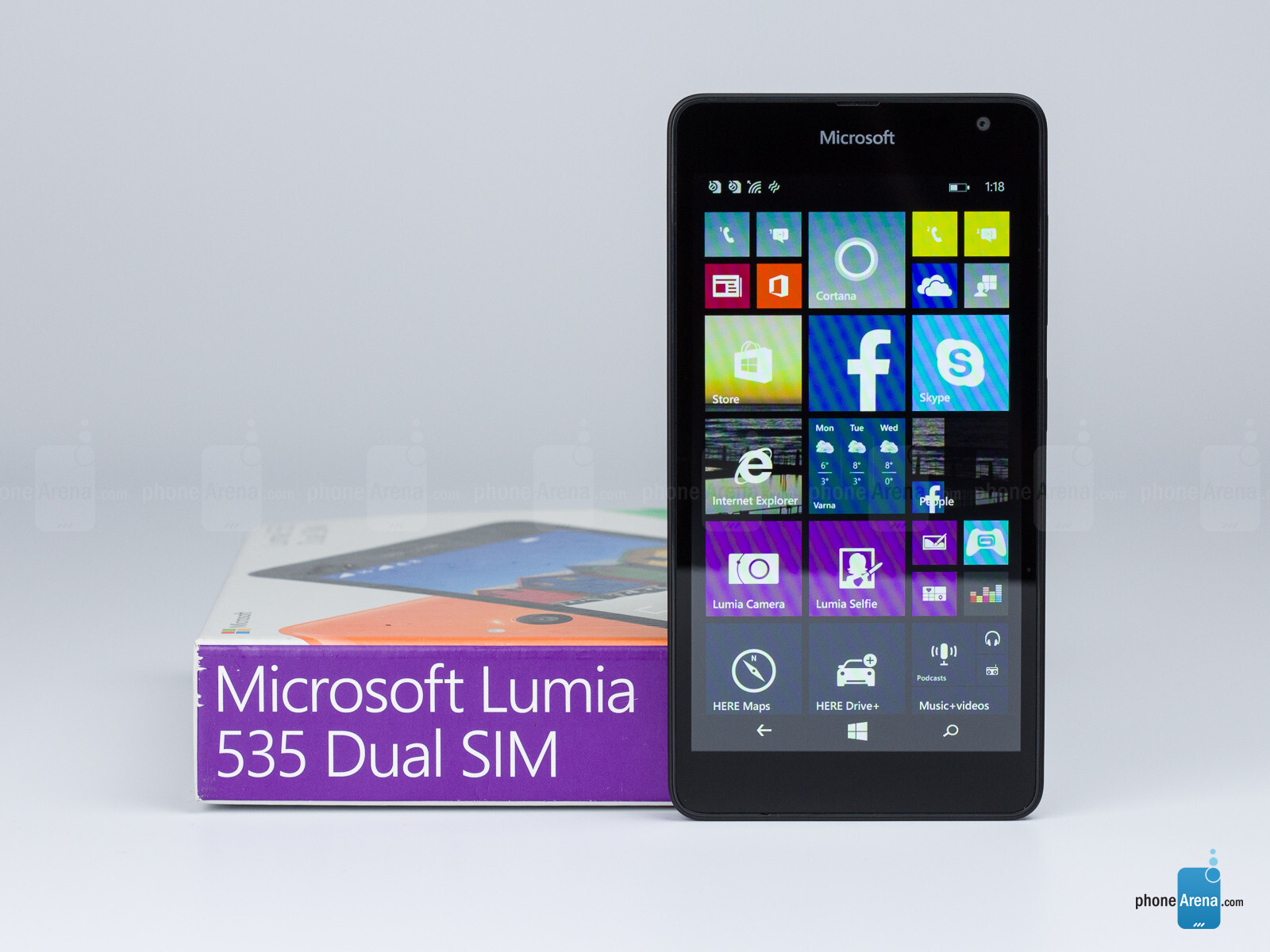 Microsoft lumia 535 dual sim white quad core 1 2ghz unlocked cell - Microsoft Lumia 535