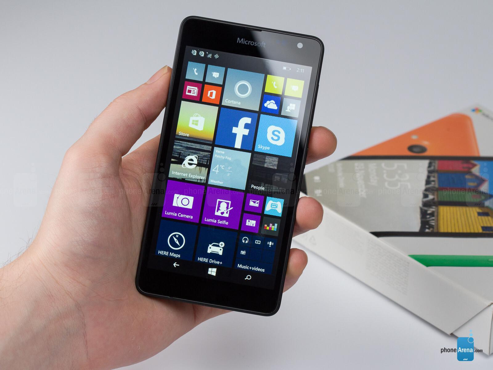 Microsoft lumia 535 dual sim white quad core 1 2ghz unlocked cell - 15