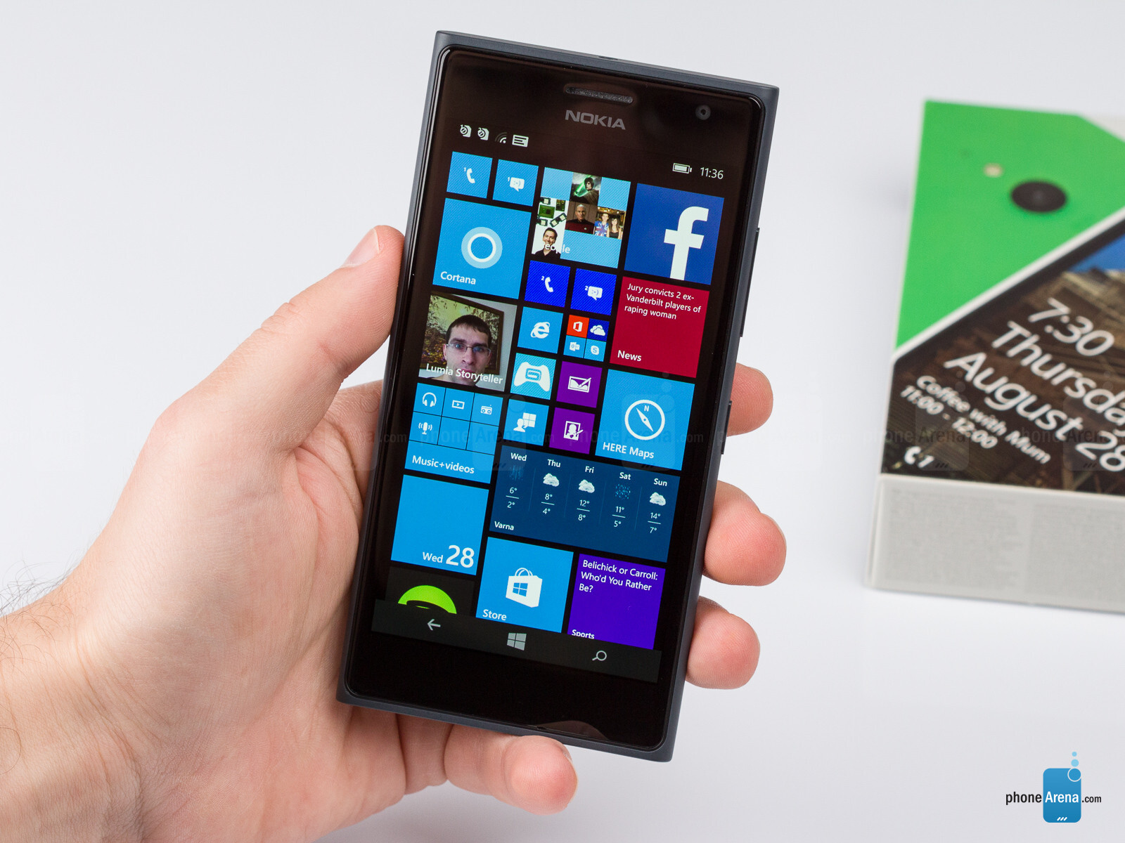 Smartphone Nokia Lumia 720: characteristics, instructions, settings, reviews 83