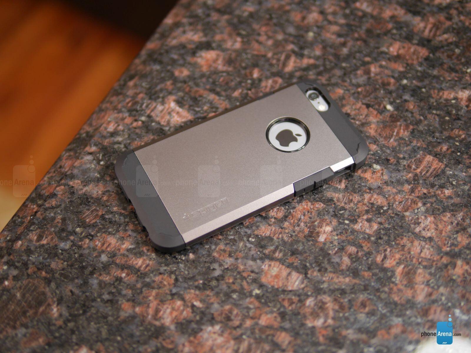 spigen tough armor case for apple iphone 6 review. Black Bedroom Furniture Sets. Home Design Ideas