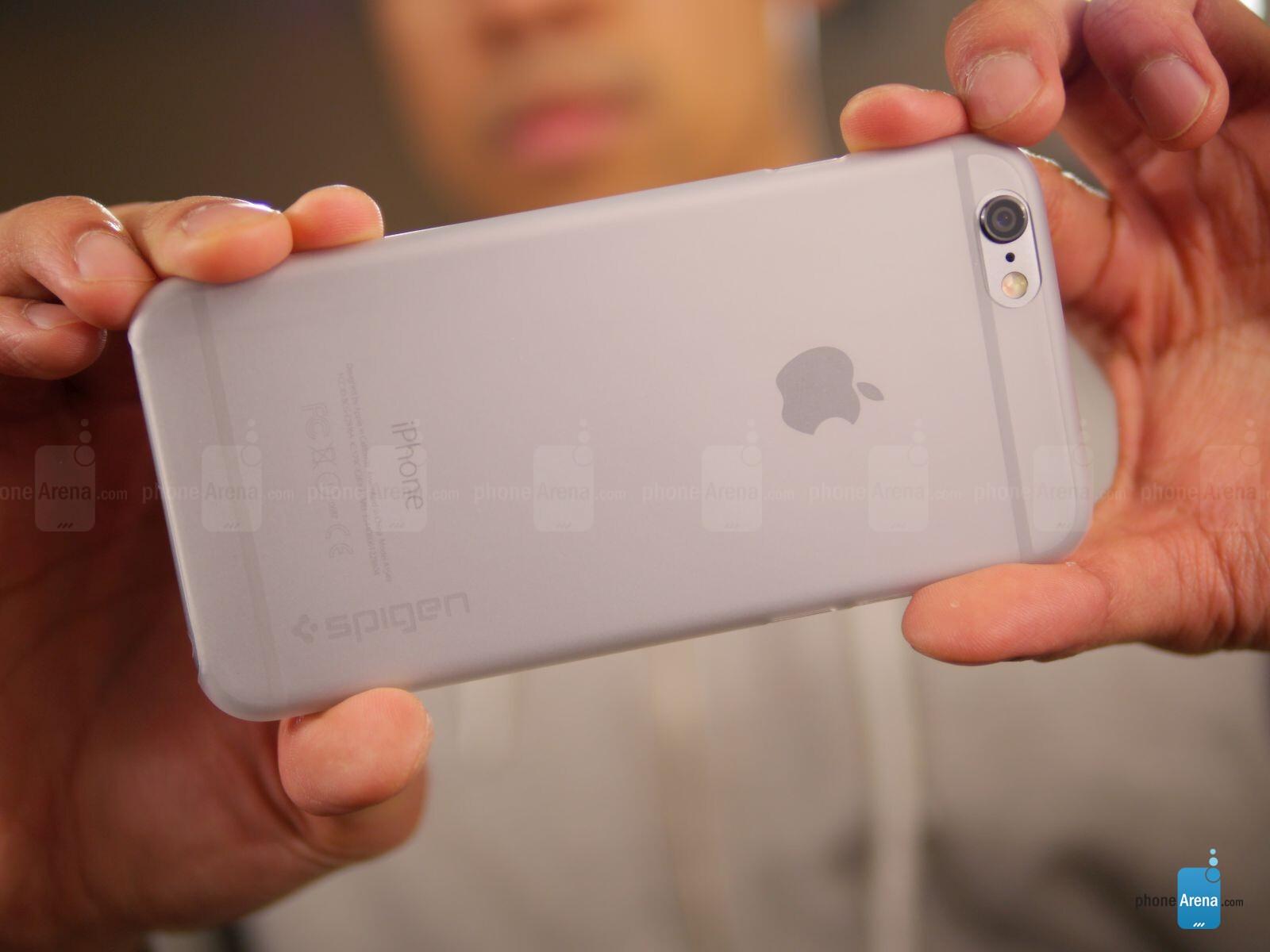 Photos For Spigen Air Skin Case Apple Iphone 6 Review X Black