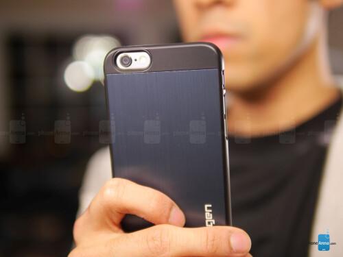 new product 73798 050b0 Spigen Aluminum Fit Case for Apple iPhone 6 Review - PhoneArena