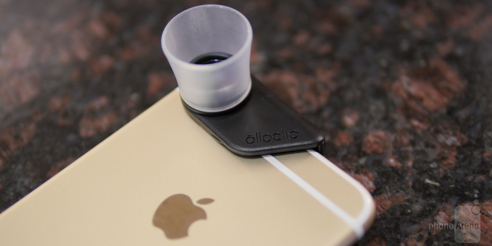 on sale 883f4 9ca54 Olloclip Macro 3-in-1 Lens for Apple iPhone 6/6 Plus Review - PhoneArena