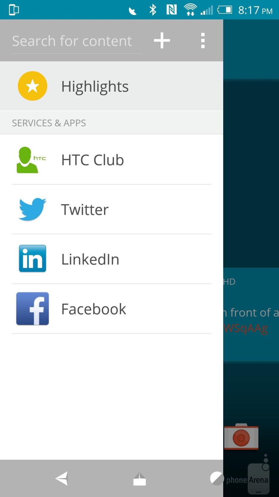 HTC Sense 7.0 on the One M9 - HTC One M9 vs Apple iPhone 6