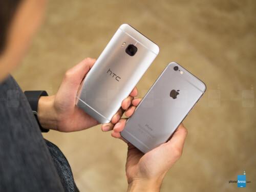 HTC One M9 vs Apple iPhone 6