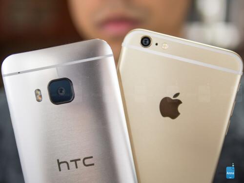 HTC One M9 vs Apple iPhone 6 Plus