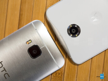 HTC One M9 vs Google Nexus 6
