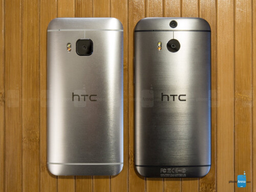 HTC One M9 vs HTC One M8