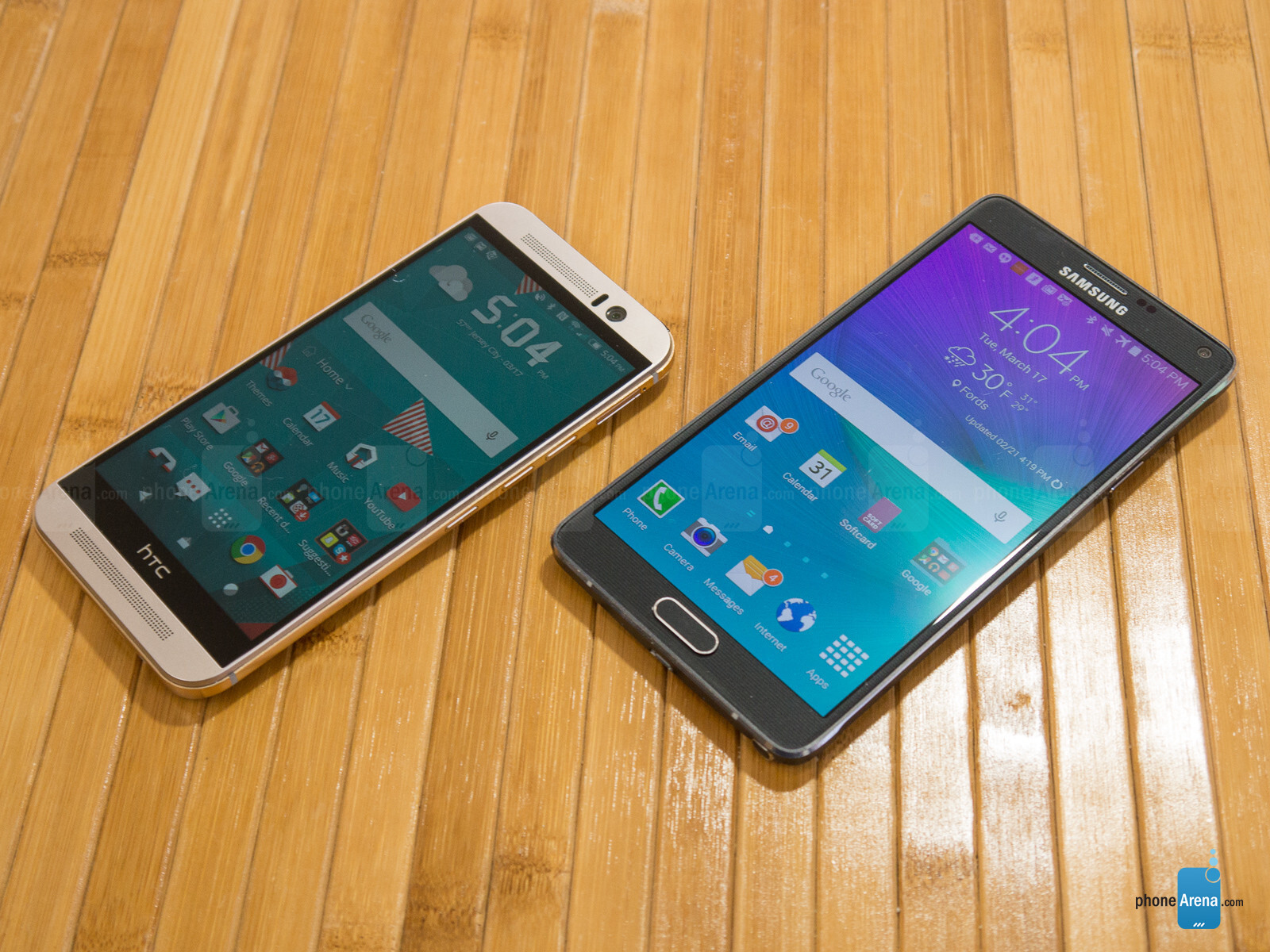 Htc One m9 vs Samsung Galaxy