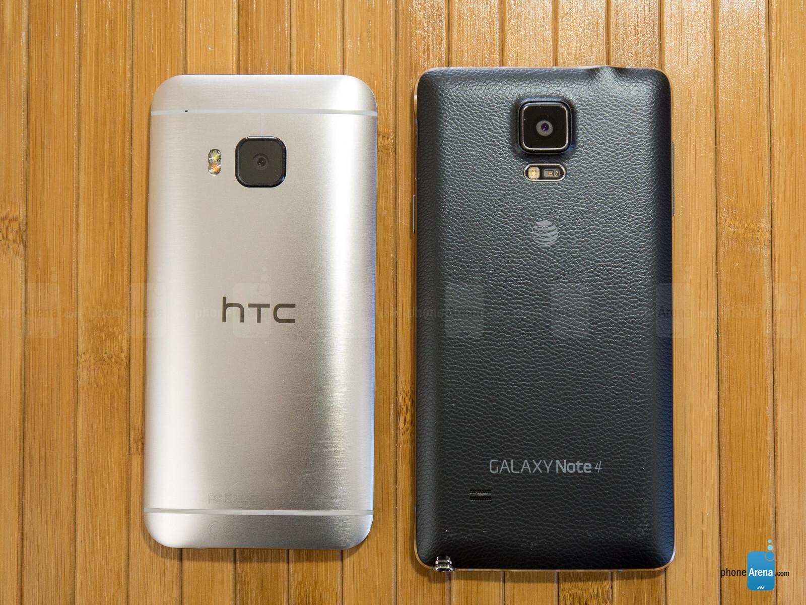 Samsung galaxy note 5 vs htc one m9 plus a comparison - 5