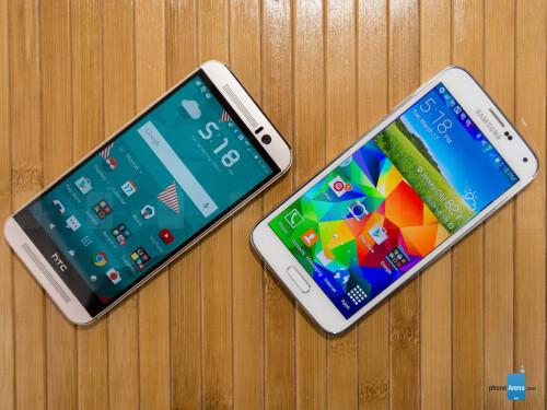 HTC One M9 vs Samsung Galaxy S5