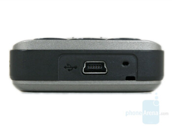 miniUSB port - HP iPAQ 510/514 Voice Messenger Review