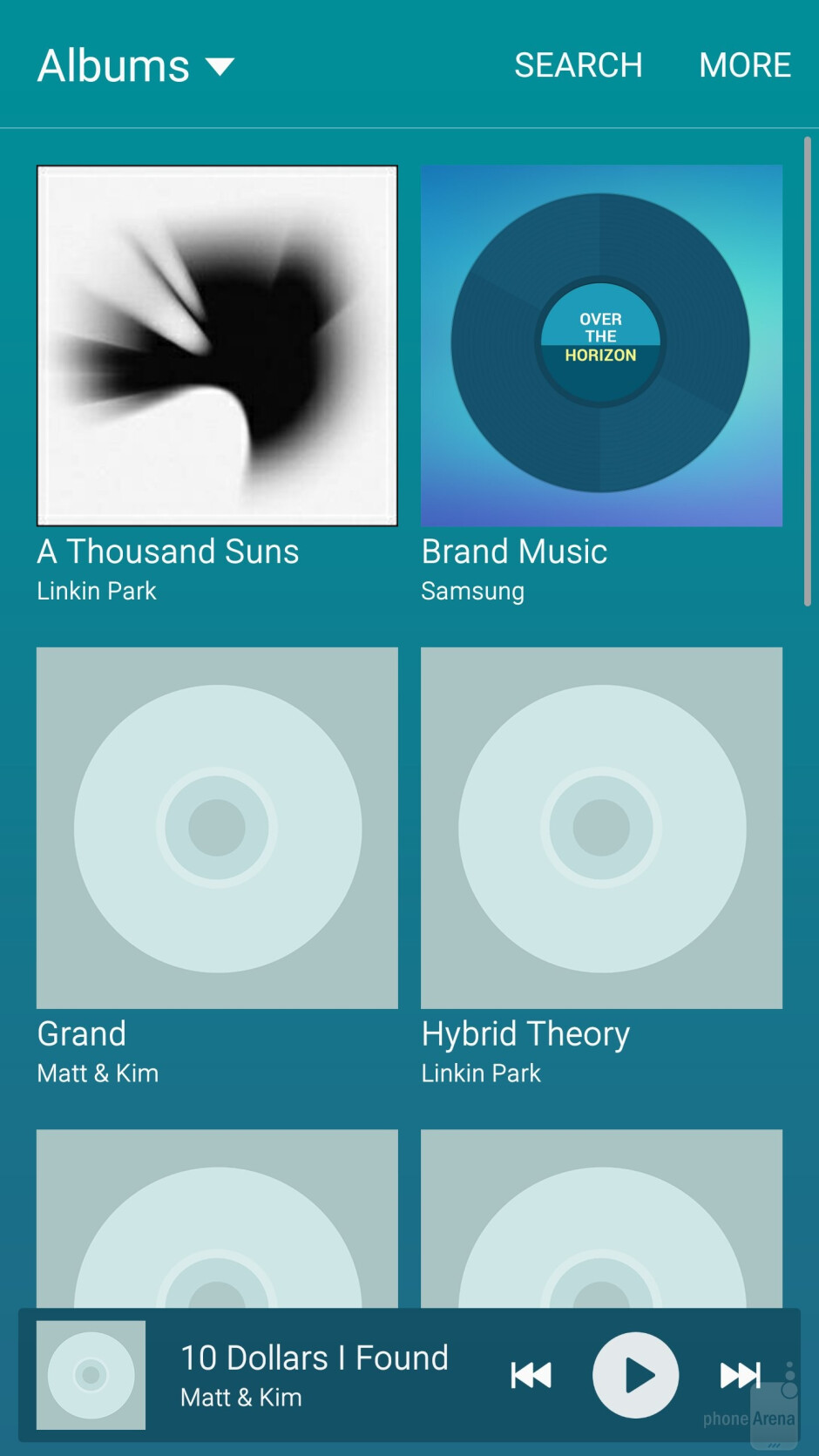 Samsung Galaxy S6 edge - Music players - Samsung Galaxy S6 edge vs HTC One M9