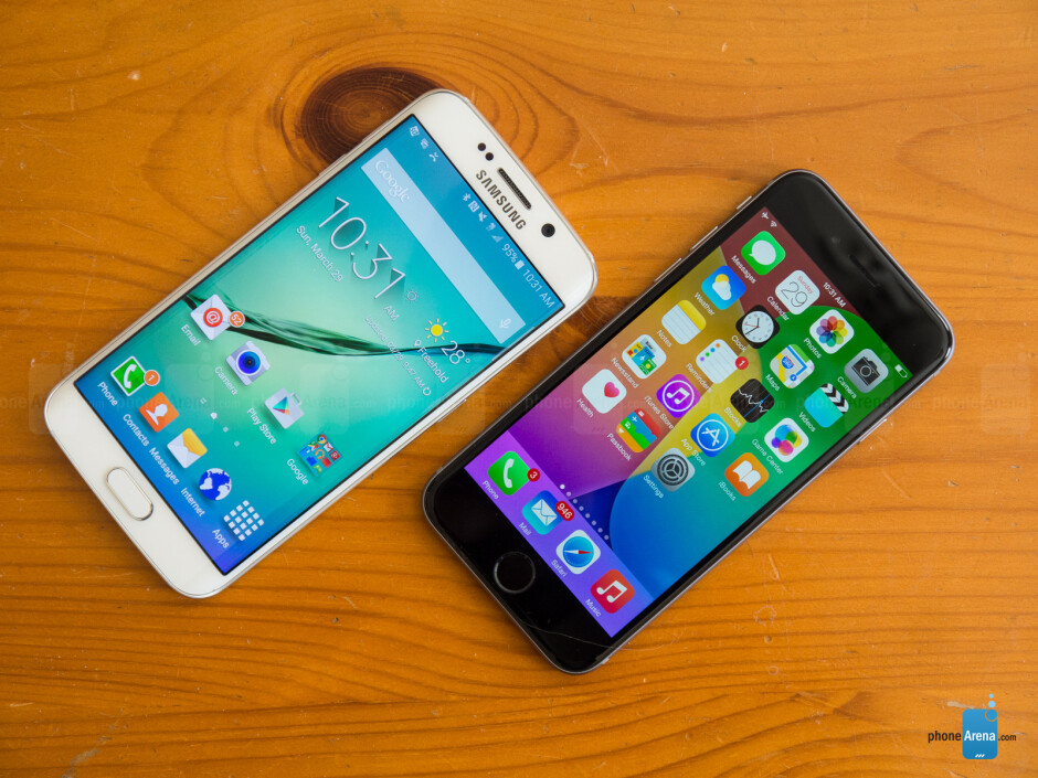 Samsung Galaxy S6 edge vs Apple iPhone 6