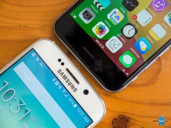 Samsung Galaxy S6 edge vs Apple iPhone 6