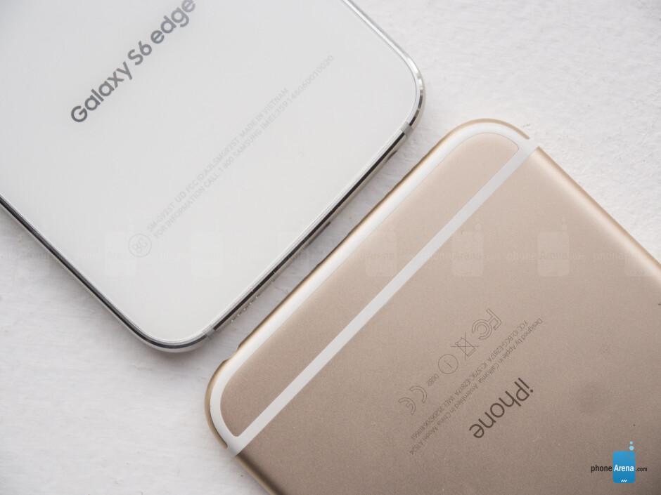 Samsung Galaxy S6 edge vs Apple iPhone 6 Plus