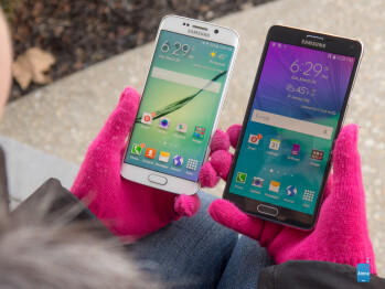 Samsung Galaxy S6 edge vs Samsung Galaxy Note 4