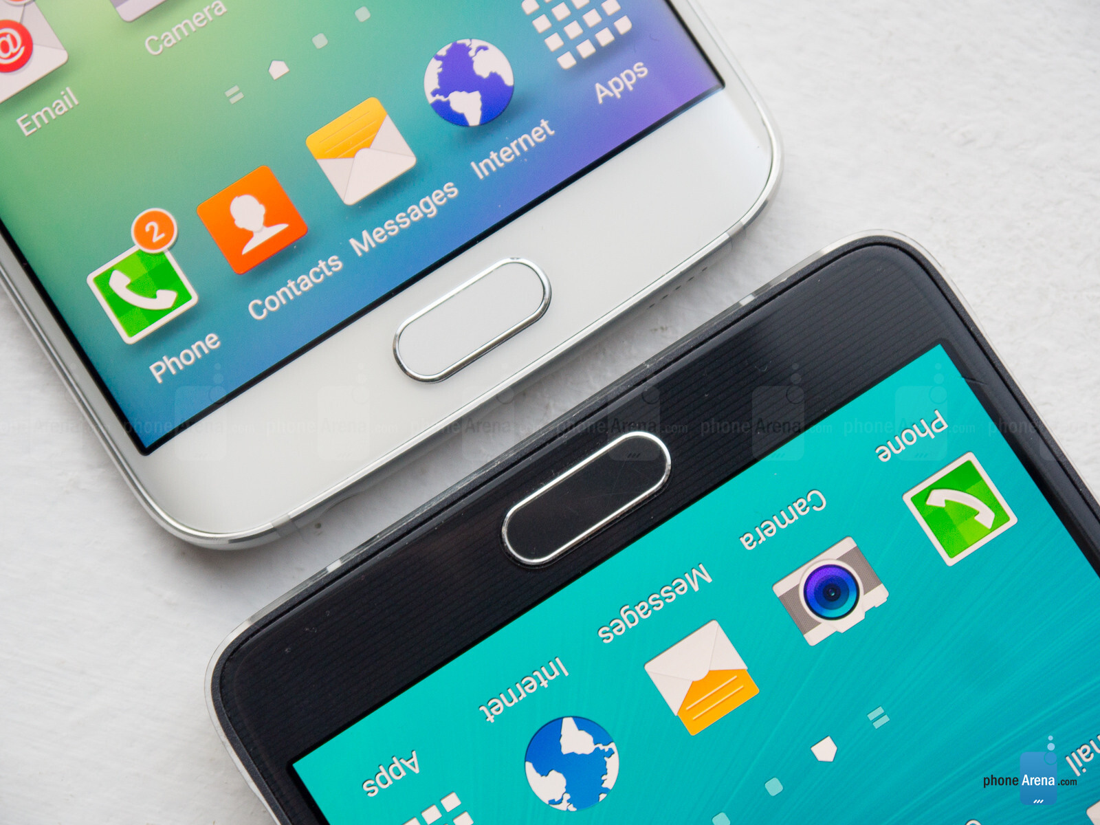 Samsung Galaxy S6 edge vs Samsung Galaxy Note 4 - PhoneArena