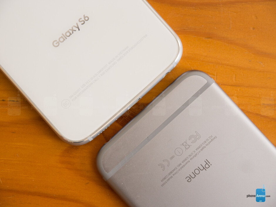 Samsung Galaxy S6 vs Apple iPhone 6