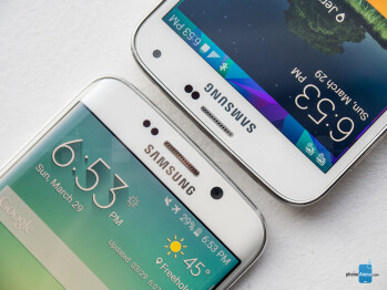 Samsung Galaxy S6 edge vs Samsung Galaxy S5