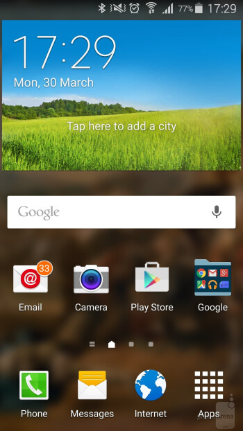 TouchWiz over Android 5.0 Lollipop on the Galaxy S5 - Samsung Galaxy S6 edge vs Samsung Galaxy S5