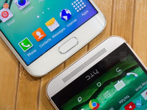 Samsung Galaxy S6 edge vs HTC One M9