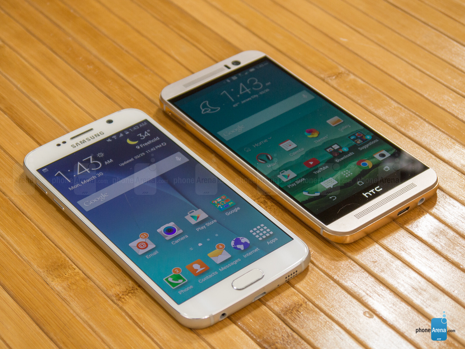 Samsung Galaxy s6 vs Htc One