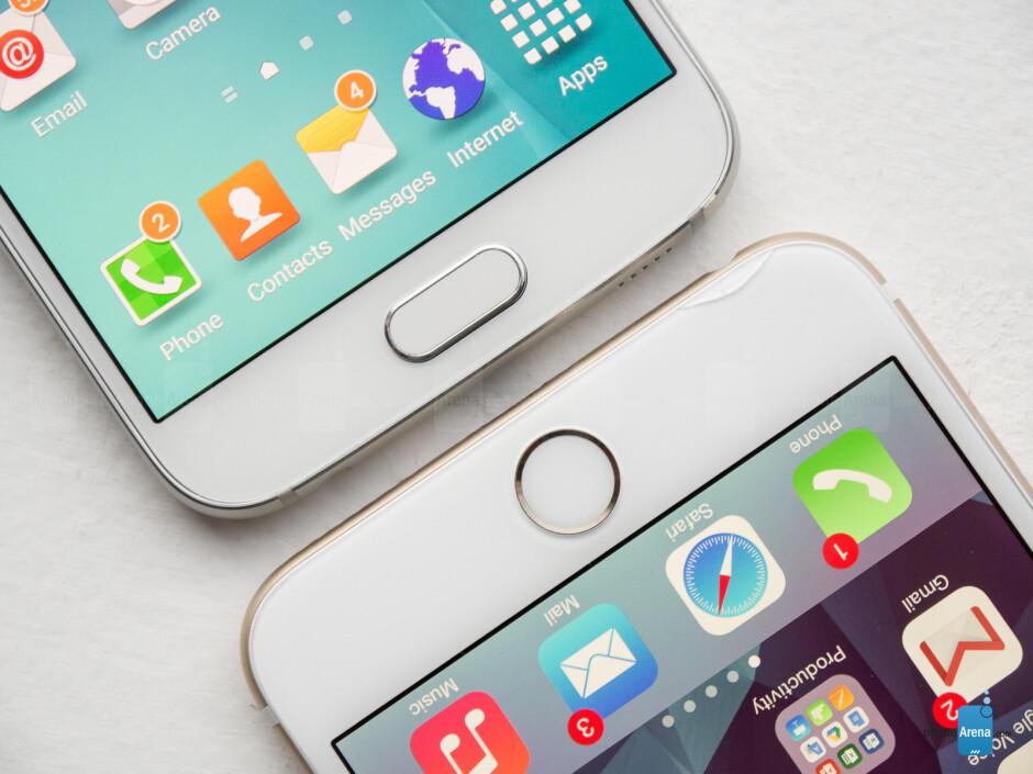 Samsung Galaxy S6 vs Apple iPhone 6 Plus