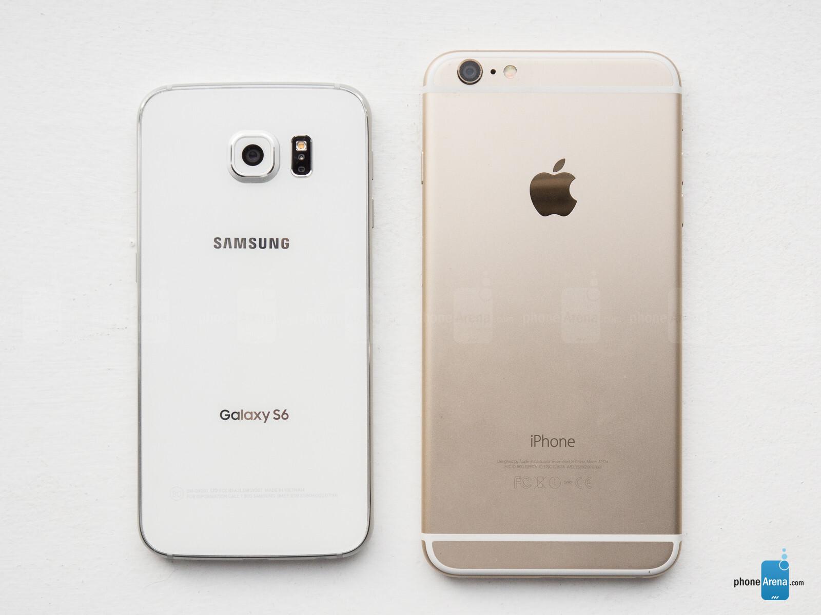 s6 vs iphone 7