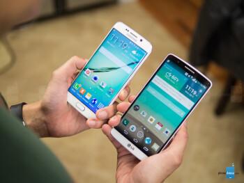 Samsung Galaxy S6 edge vs LG G3