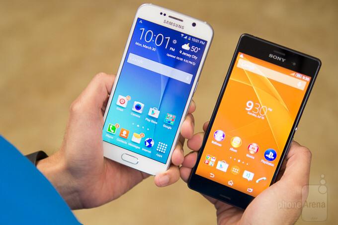 s6 vs iphone 7 vs xperia z3