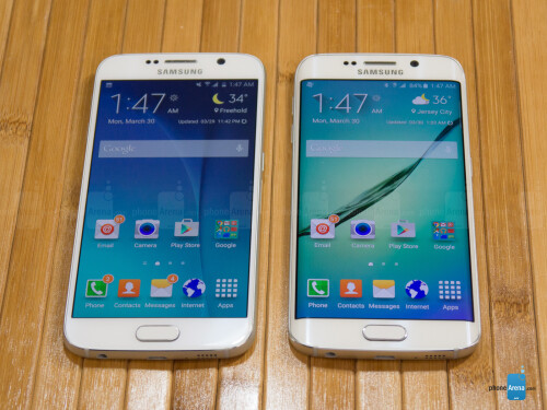 Samsung Galaxy S6 vs Samsung Galaxy S6 edge